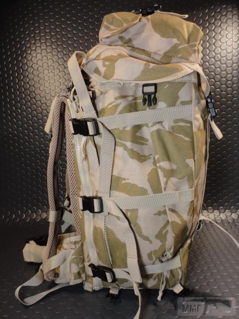 21408 - Модульный рюкзак армии Великобритании Bowman Manpack Radio Carrier Desert DPM 45 литров . Новый