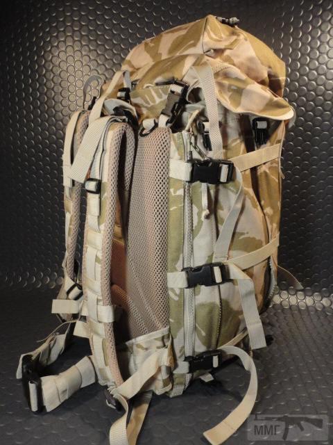 21409 - Модульный рюкзак армии Великобритании Bowman Manpack Radio Carrier Desert DPM 45 литров . Новый