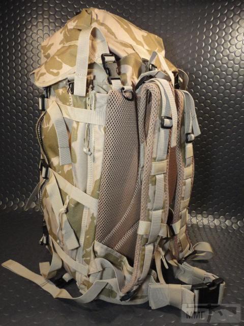 21411 - Модульный рюкзак армии Великобритании Bowman Manpack Radio Carrier Desert DPM 45 литров . Новый