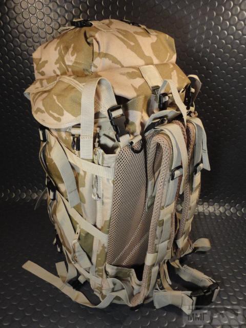 21412 - Модульный рюкзак армии Великобритании Bowman Manpack Radio Carrier Desert DPM 45 литров . Новый