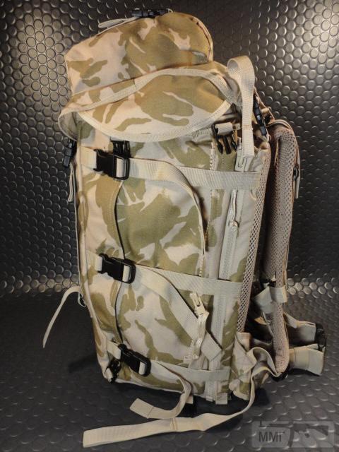 21413 - Модульный рюкзак армии Великобритании Bowman Manpack Radio Carrier Desert DPM 45 литров . Новый