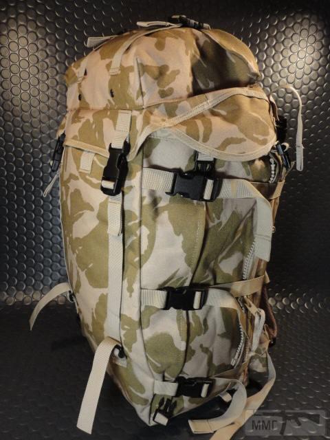 21414 - Модульный рюкзак армии Великобритании Bowman Manpack Radio Carrier Desert DPM 45 литров . Новый