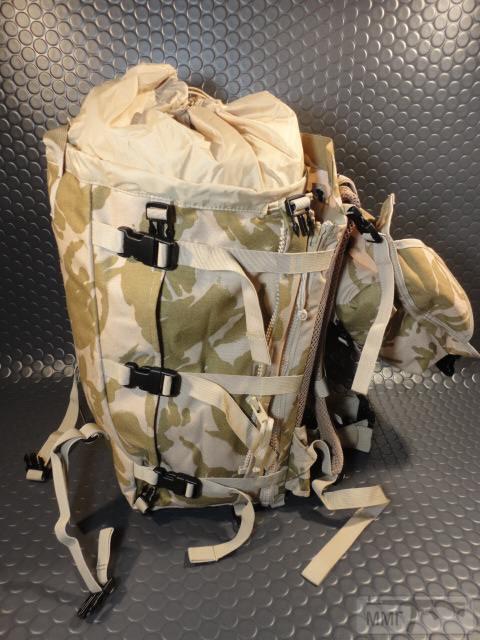 21416 - Модульный рюкзак армии Великобритании Bowman Manpack Radio Carrier Desert DPM 45 литров . Новый