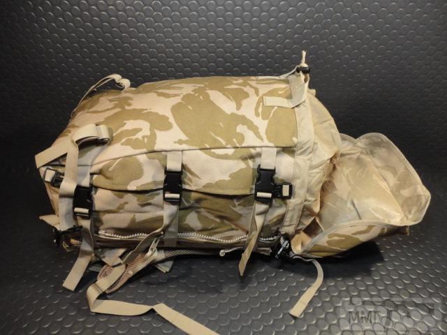 21417 - Модульный рюкзак армии Великобритании Bowman Manpack Radio Carrier Desert DPM 45 литров . Новый