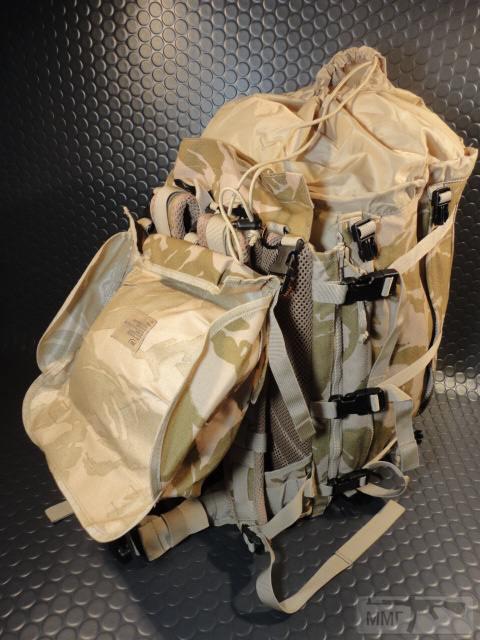 21418 - Модульный рюкзак армии Великобритании Bowman Manpack Radio Carrier Desert DPM 45 литров . Новый