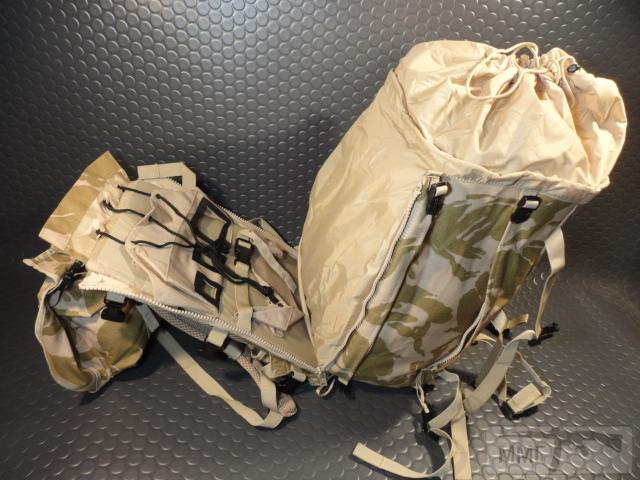 21421 - Модульный рюкзак армии Великобритании Bowman Manpack Radio Carrier Desert DPM 45 литров . Новый
