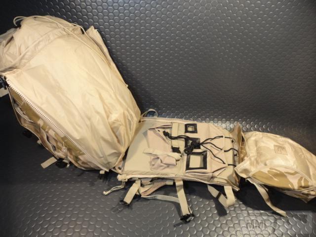 21423 - Модульный рюкзак армии Великобритании Bowman Manpack Radio Carrier Desert DPM 45 литров . Новый