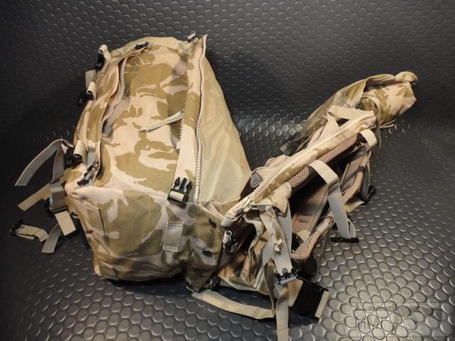 21425 - Модульный рюкзак армии Великобритании Bowman Manpack Radio Carrier Desert DPM 45 литров . Новый