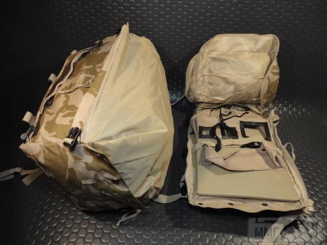 21426 - Модульный рюкзак армии Великобритании Bowman Manpack Radio Carrier Desert DPM 45 литров . Новый