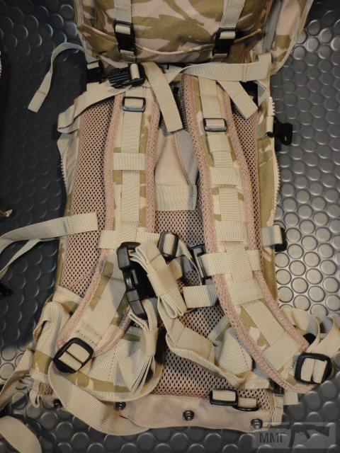 21429 - Модульный рюкзак армии Великобритании Bowman Manpack Radio Carrier Desert DPM 45 литров . Новый