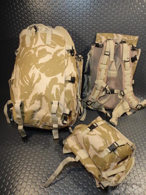 21430 - Модульный рюкзак армии Великобритании Bowman Manpack Radio Carrier Desert DPM 45 литров . Новый