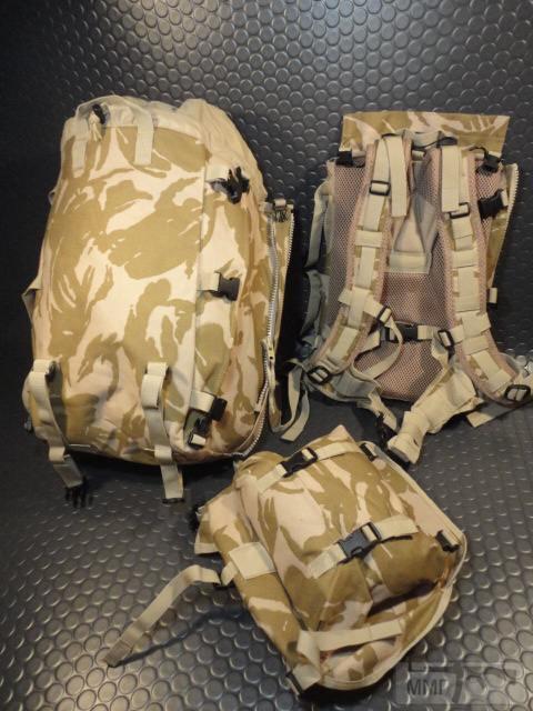 21431 - Модульный рюкзак армии Великобритании Bowman Manpack Radio Carrier Desert DPM 45 литров . Новый