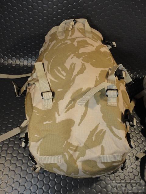 21437 - Модульный рюкзак армии Великобритании Bowman Manpack Radio Carrier Desert DPM 45 литров . Новый