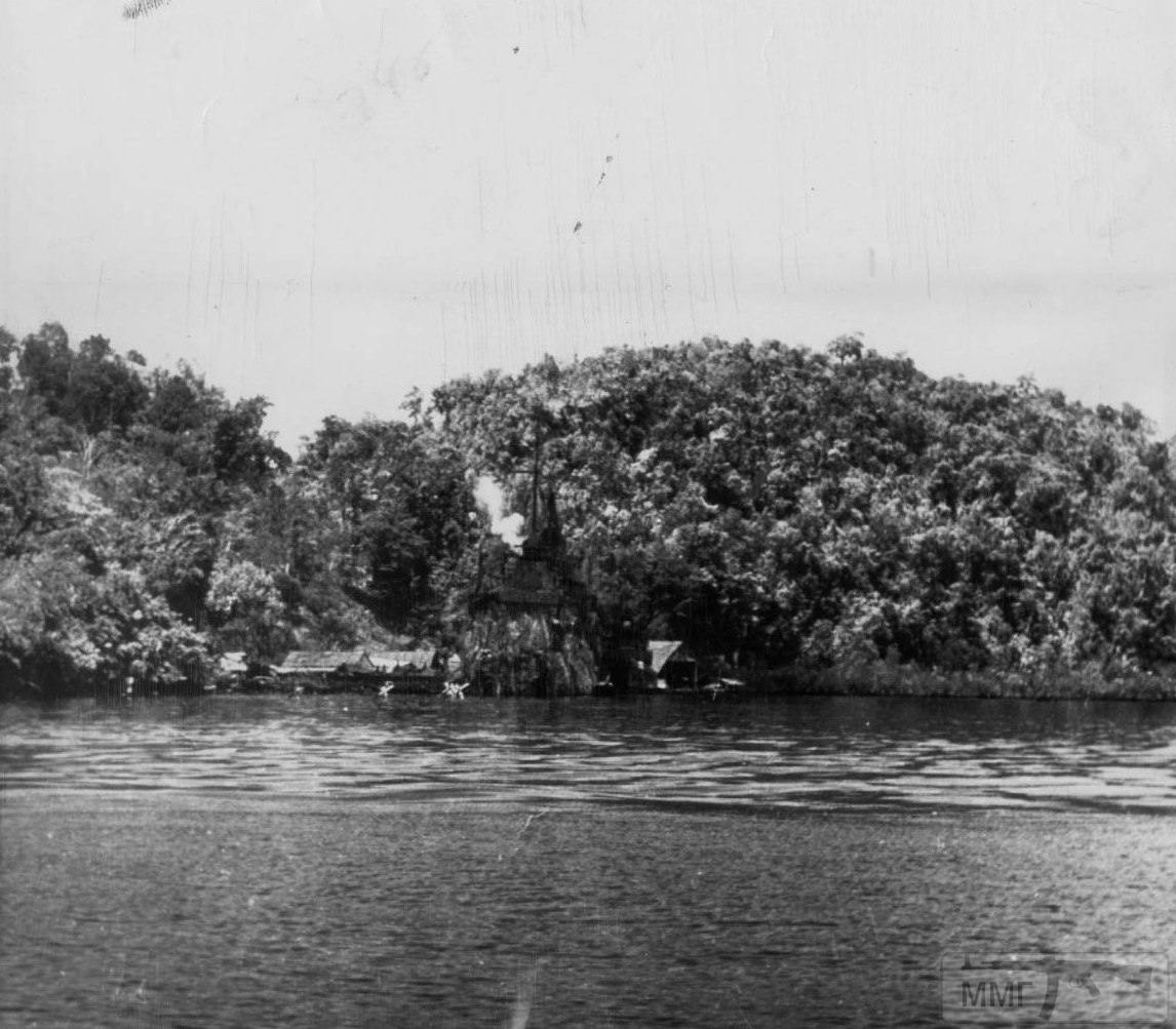 21701 - Военное фото 1941-1945 г.г. Тихий океан.