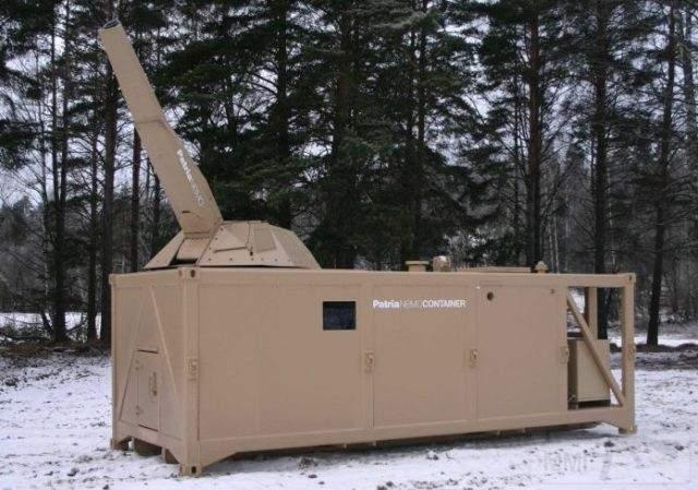 2172 - Контейнеризированный вариант 120-мм миномета NEMO