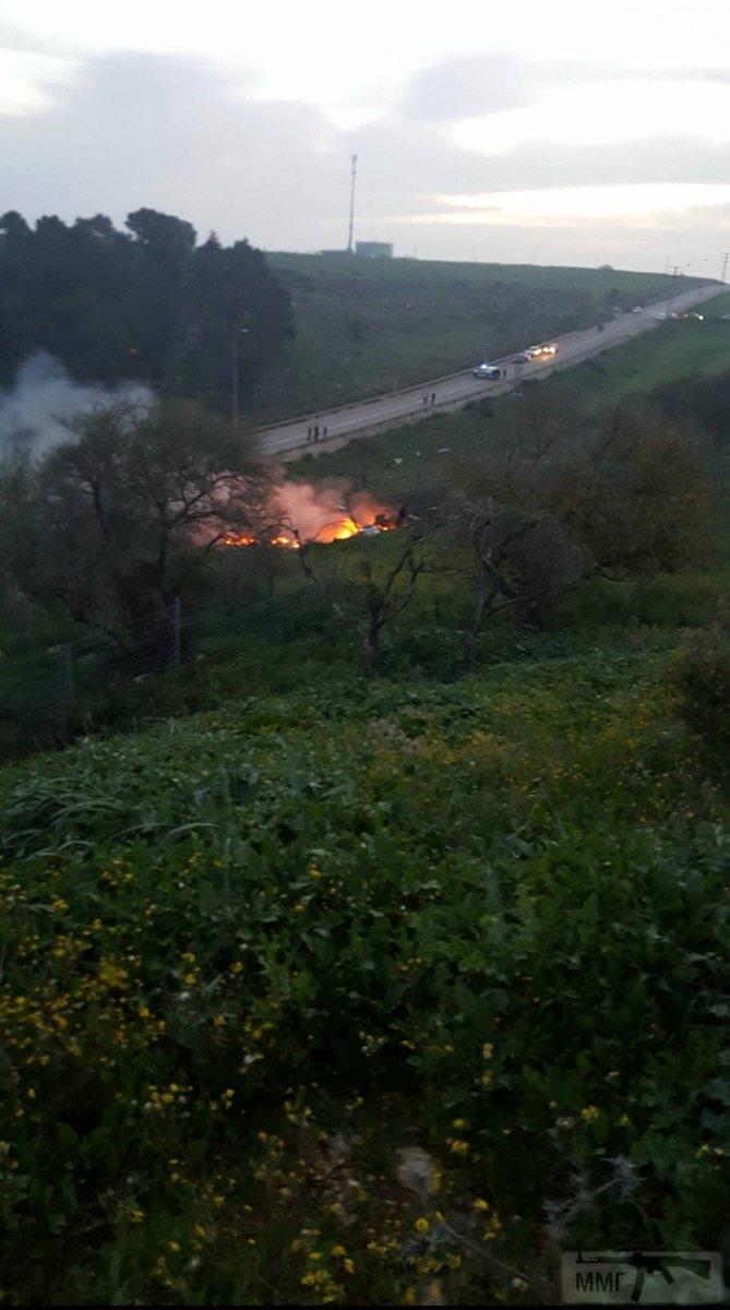 21835 - Обломки сбитого израильского F-16