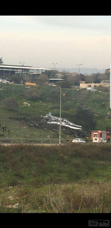 21836 - Обломки сбитого израильского F-16