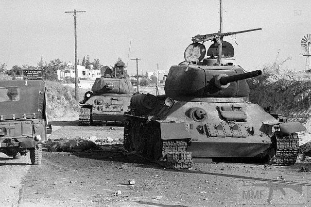 21857 - Послевоенное использование советской бронетехники WW2