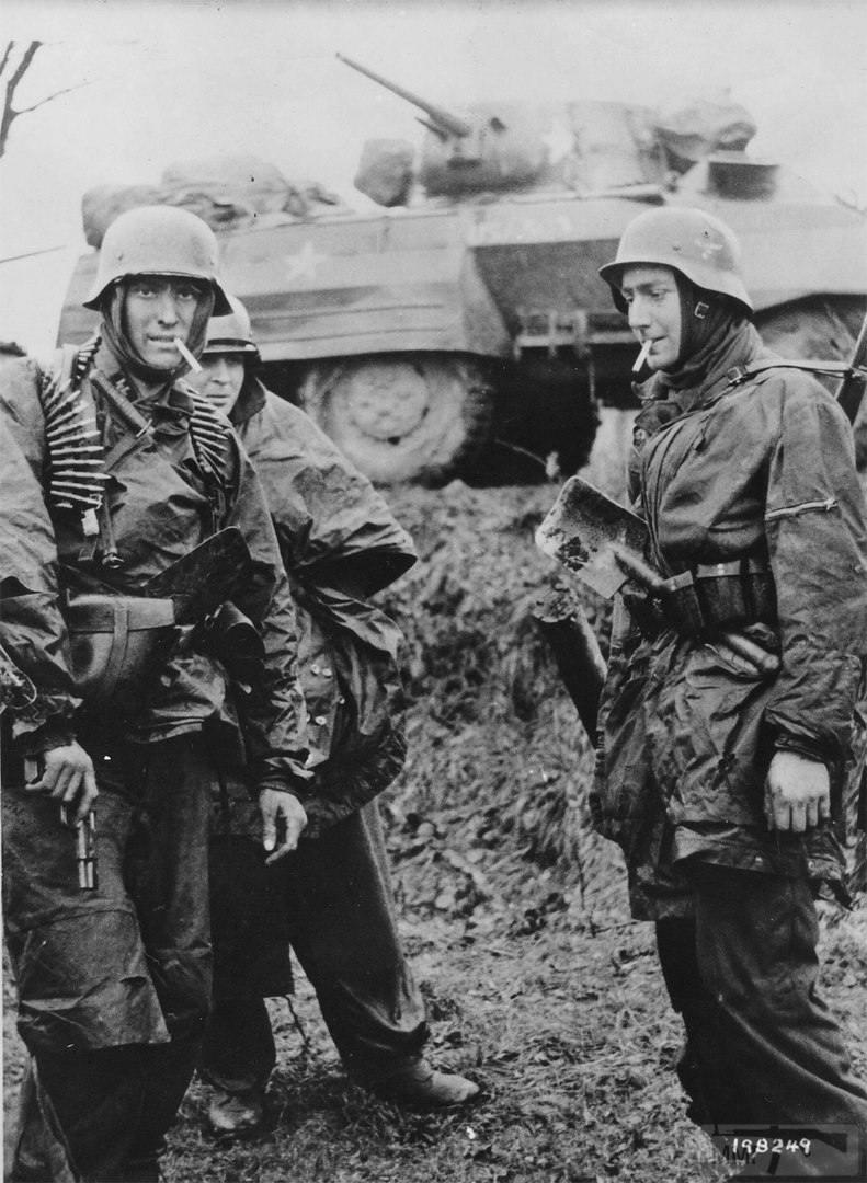 21920 - Военное фото 1939-1945 г.г. Западный фронт и Африка.