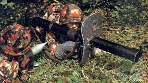 22311 - Реактивный противотанковый гранатомет RPzB.43 Ofenrohr Офенрор / RPzB.54 Panzerschreck Панцершрек