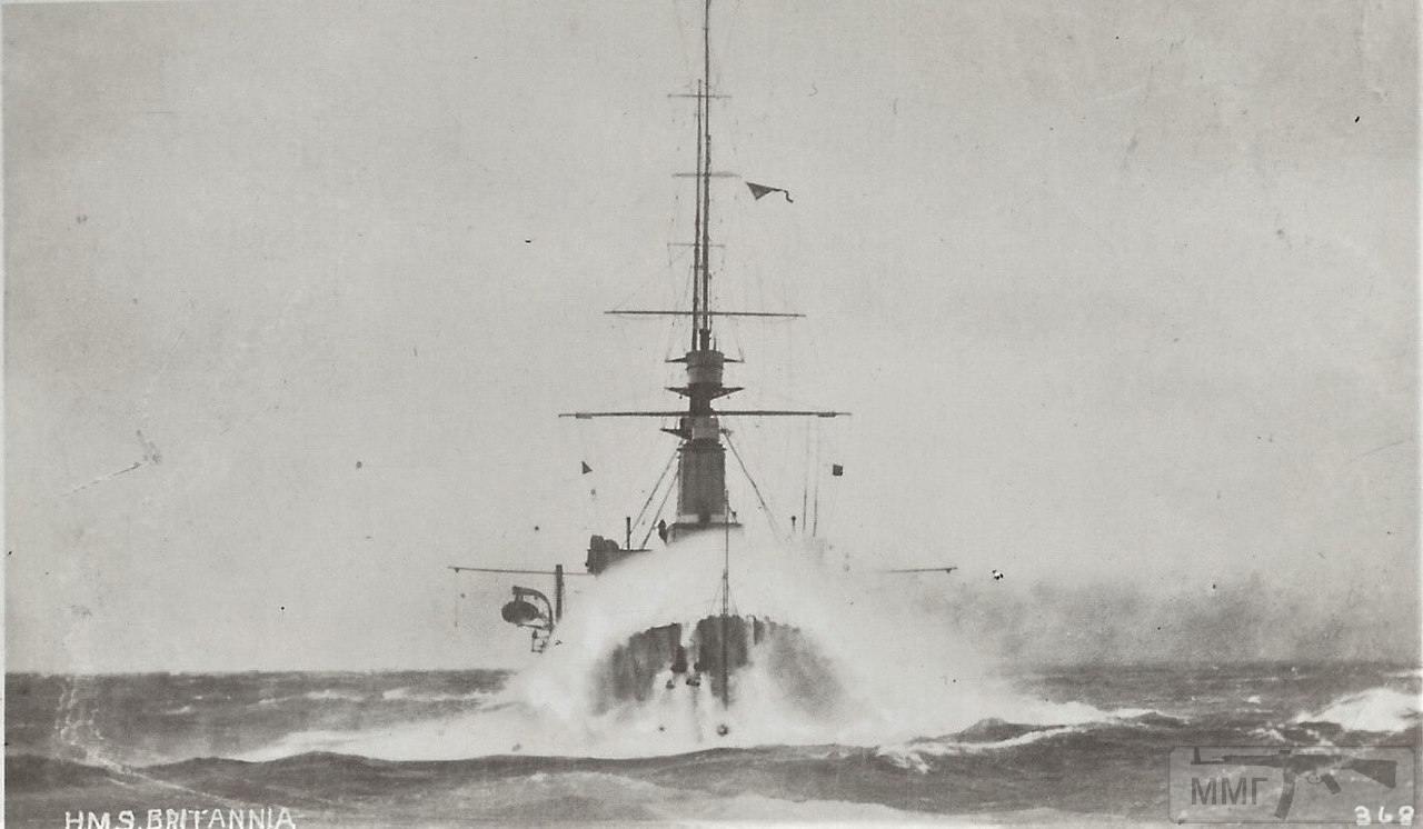 22318 - Броненосцы, дредноуты, линкоры и крейсера Британии