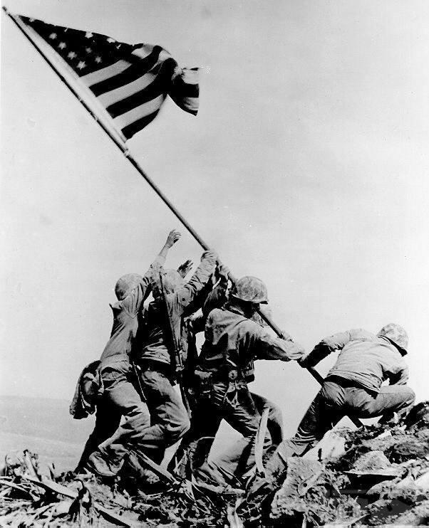 22375 - Военное фото 1941-1945 г.г. Тихий океан.