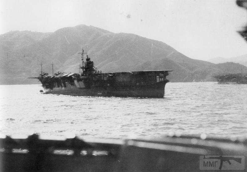 22817 - Военное фото 1941-1945 г.г. Тихий океан.