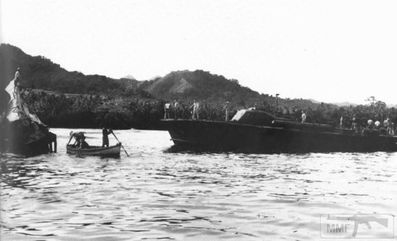 22823 - Военное фото 1941-1945 г.г. Тихий океан.