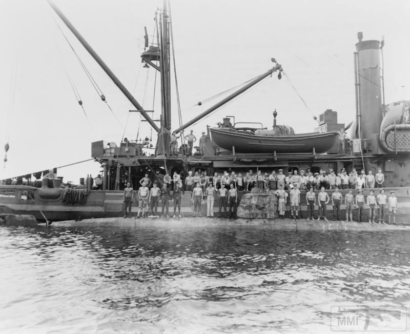 22825 - Военное фото 1941-1945 г.г. Тихий океан.