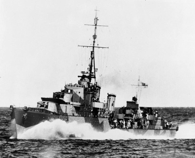22935 - Военное фото 1941-1945 г.г. Тихий океан.