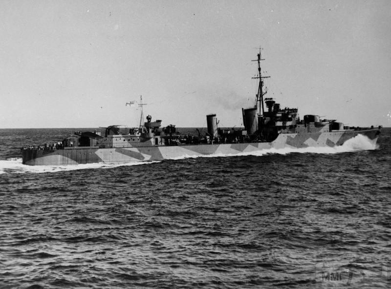 22937 - Военное фото 1941-1945 г.г. Тихий океан.