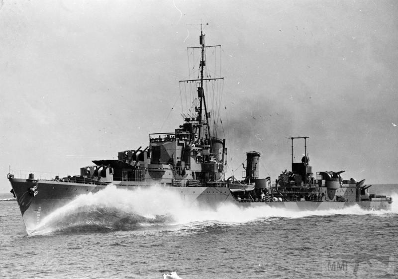 22940 - Военное фото 1941-1945 г.г. Тихий океан.
