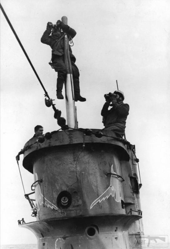 22947 - Действия немецких подлодок в Атлантике