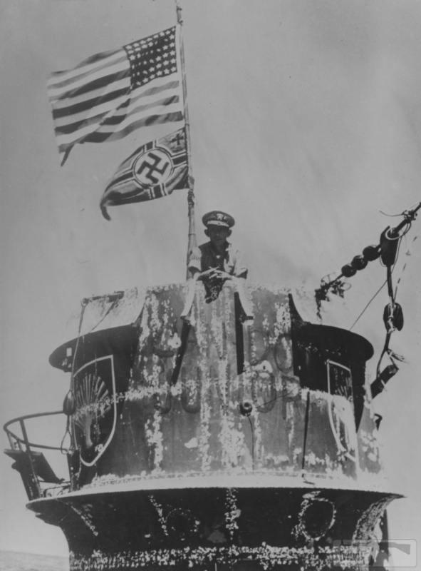 22954 - Действия немецких подлодок в Атлантике
