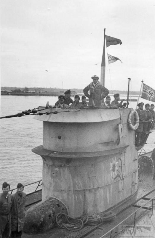 22955 - Действия немецких подлодок в Атлантике