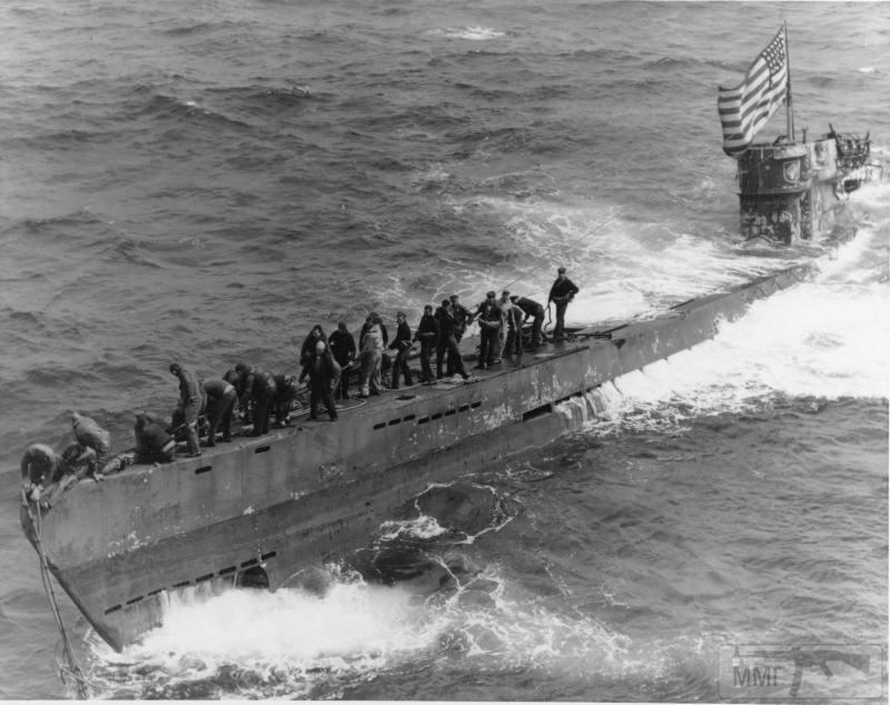 22959 - Действия немецких подлодок в Атлантике