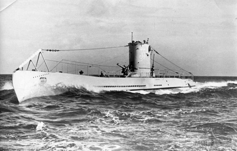 22960 - Действия немецких подлодок в Атлантике