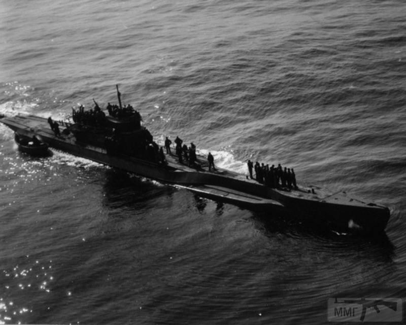 22961 - Действия немецких подлодок в Атлантике