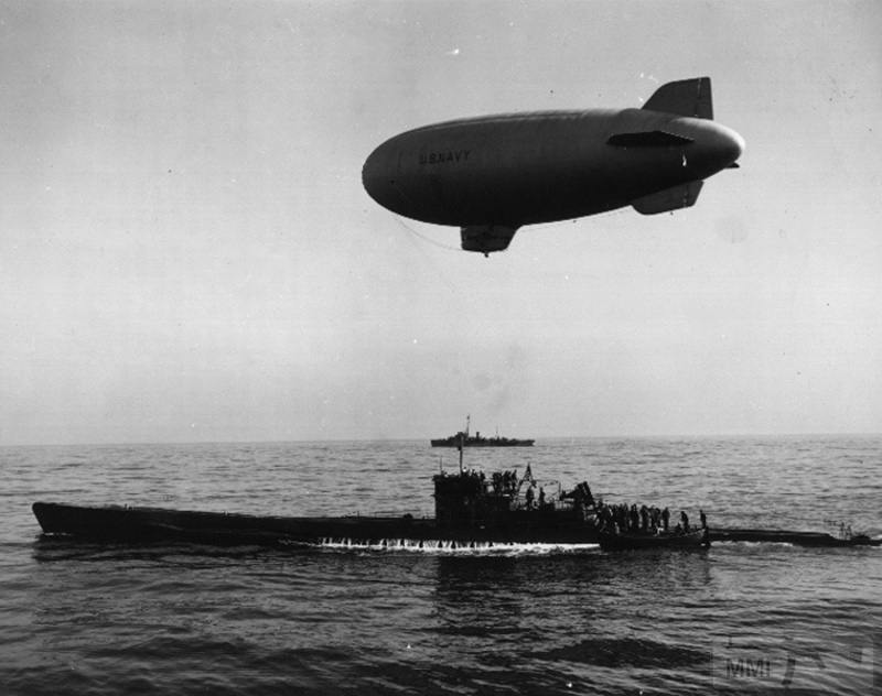 22963 - Действия немецких подлодок в Атлантике