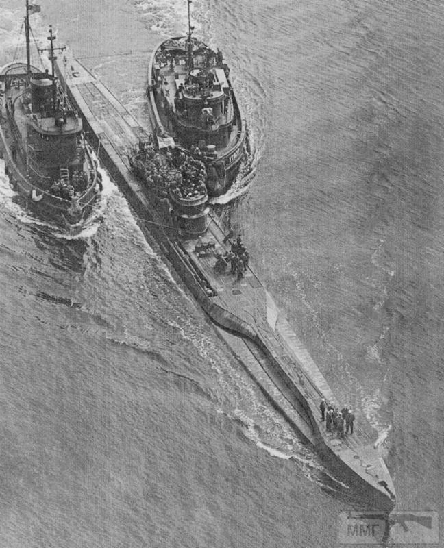 22965 - Действия немецких подлодок в Атлантике