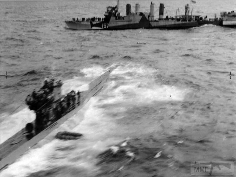 22966 - Действия немецких подлодок в Атлантике