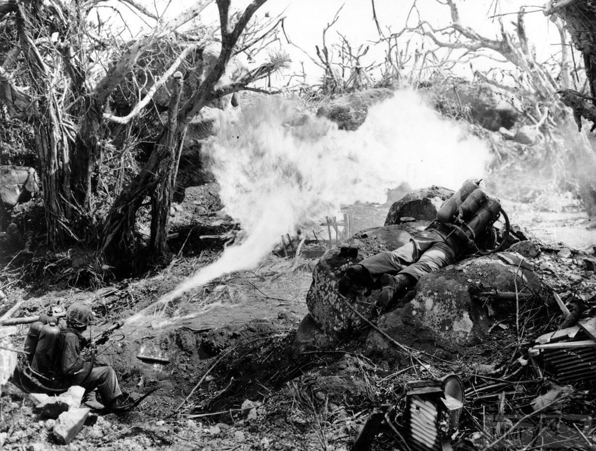 23331 - Военное фото 1941-1945 г.г. Тихий океан.