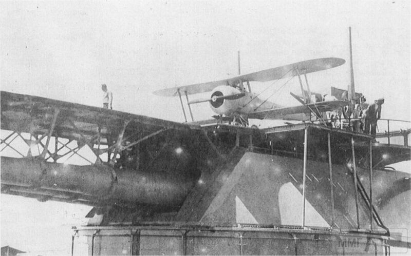 23948 - Nieuport 28 на башенной платформе USS Arizona (BB-39)