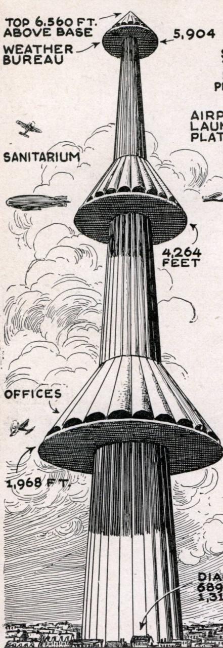 24359 - Проект башни противовоздушной обороны Tour Maginot (Франция).