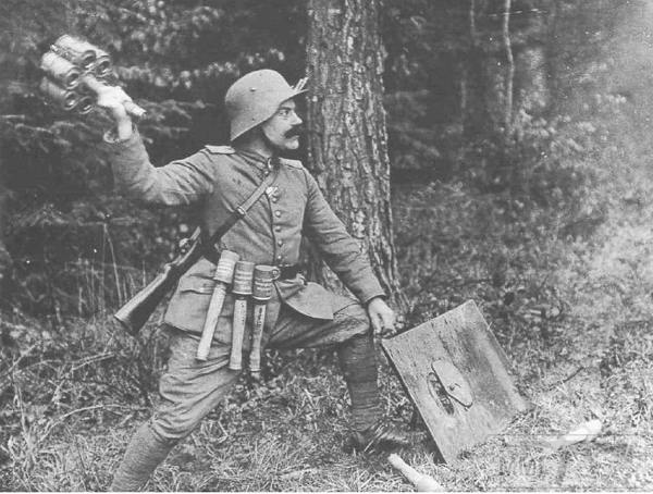 25656 - Военное фото. Западный фронт. 1914-1918г.г.