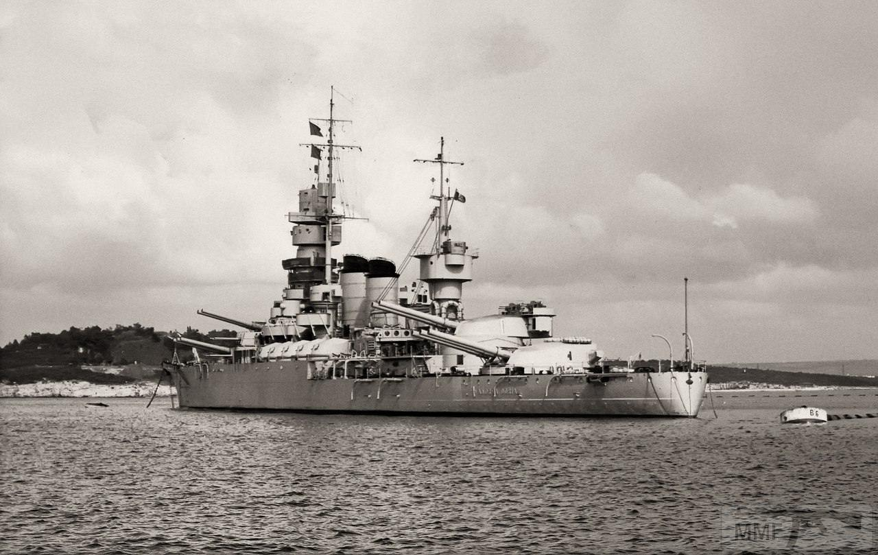 25737 - Regia Marina - Italian Battleships Littorio Class и другие...