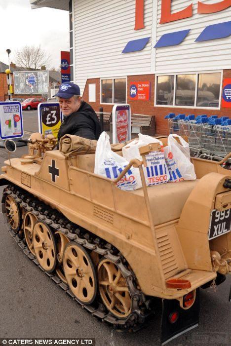 """2623 - Служба немецких """"коробочек"""" после войны..."""