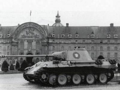 """2625 - Служба немецких """"коробочек"""" после войны..."""