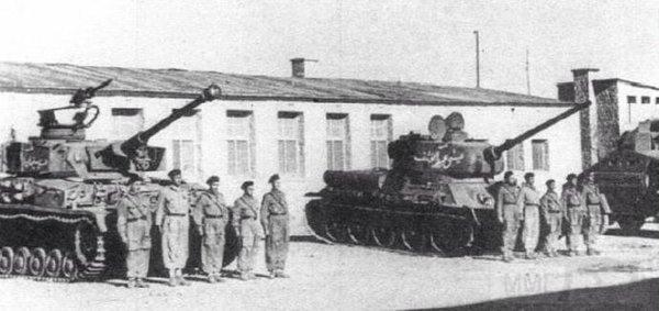 """2636 - Служба немецких """"коробочек"""" после войны..."""