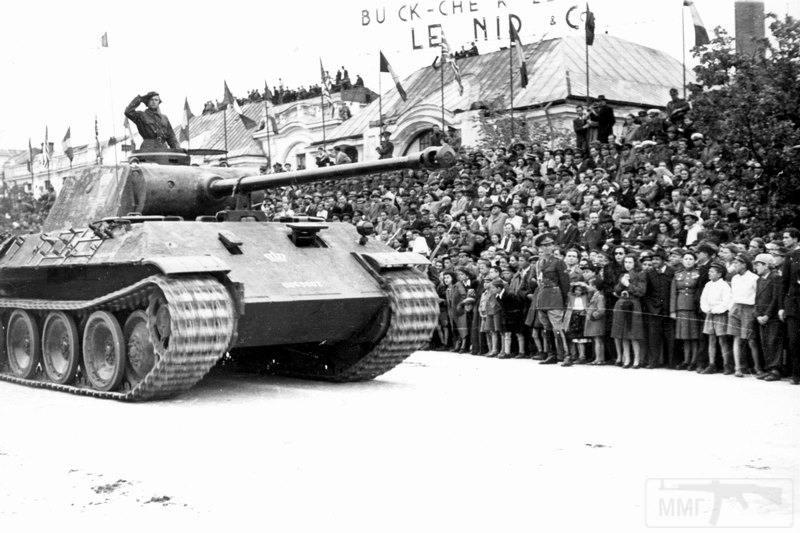 """2651 - Служба немецких """"коробочек"""" после войны..."""